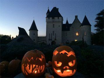 Halloween Visite costumée chateau de la Loire le RIVAU