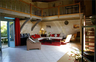 Bedrooms in inn bed and breakfast domaine du grand gruet for Above all grand salon