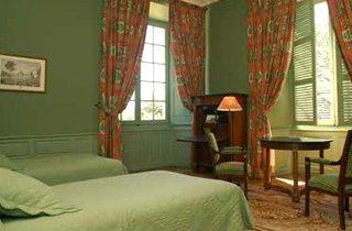 Bedrooms in hotel, Château de Reignac, Reignac-sur-Indre ...